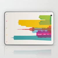 Shapes of Seoul accurate to scale Laptop & iPad Skin