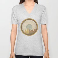 Moon & Mountains Unisex V-Neck