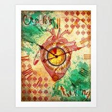 Clock's ticking... Art Print