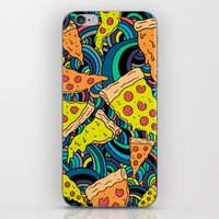 Pizza Meditation iPhone & iPod Skin