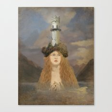 Rapunzel's Tower Canvas Print