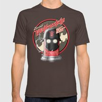 Drink Wolfenstein Mens Fitted Tee Brown SMALL