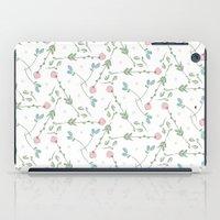 Tiny Flowers iPad Case