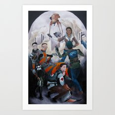 The Deposition From City 17 Art Print