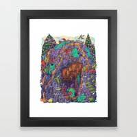 The Pizza Mine Framed Art Print