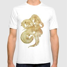 Lust White Mens Fitted Tee SMALL