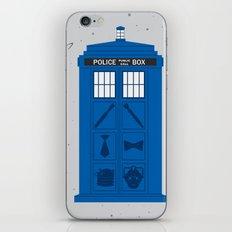 The Tardis Got Some Ink iPhone & iPod Skin