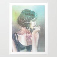 Walks in Beauty Art Print