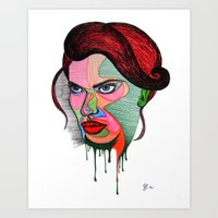 Beauty Fades Art Print