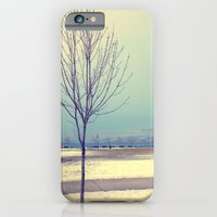 iPhone & iPod Case featuring Okanagan Winter Blues by TaylorT