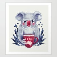 I♥Australia Art Print
