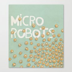 microrobo Canvas Print