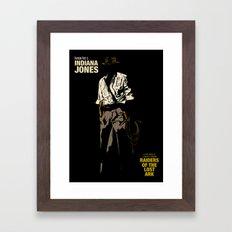 Indiana Jones: Raiders O… Framed Art Print