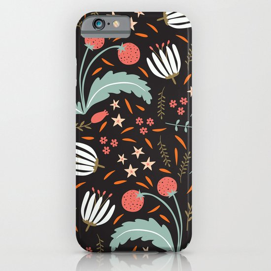 Floral Fusion iPhone & iPod Case