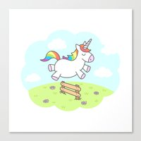 Unicorn Dream Canvas Print