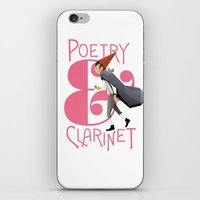 Poerty & Clarinet iPhone & iPod Skin