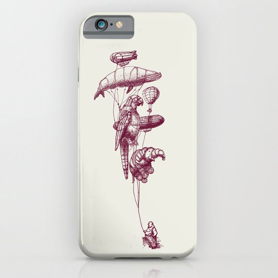 The Helium Menagerie (merlot)  iPhone & iPod Case