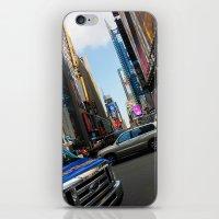 New York City Time Squar… iPhone & iPod Skin