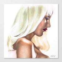 Platinum Blonde Life. Canvas Print
