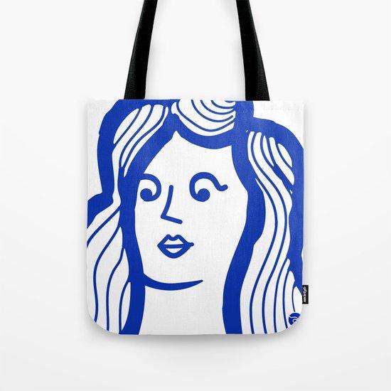 Yo-Yo Girl Tote Bag