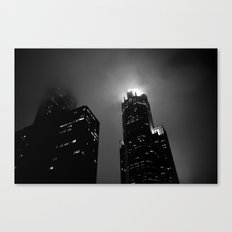 The Torch of Chicago Canvas Print