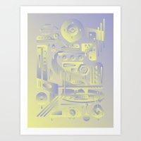Geometromorphic Future Art Print