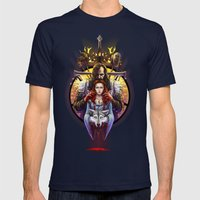 The Blood Maiden Mens Fitted Tee Navy SMALL