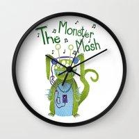 The Monster Mash Wall Clock