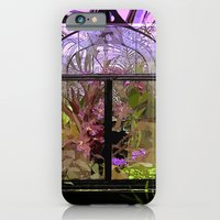 iPhone & iPod Case featuring Green House Orchids by ArtistsWorks