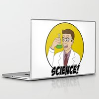 science Laptop & iPad Skins featuring Science! by Great Opportunitees