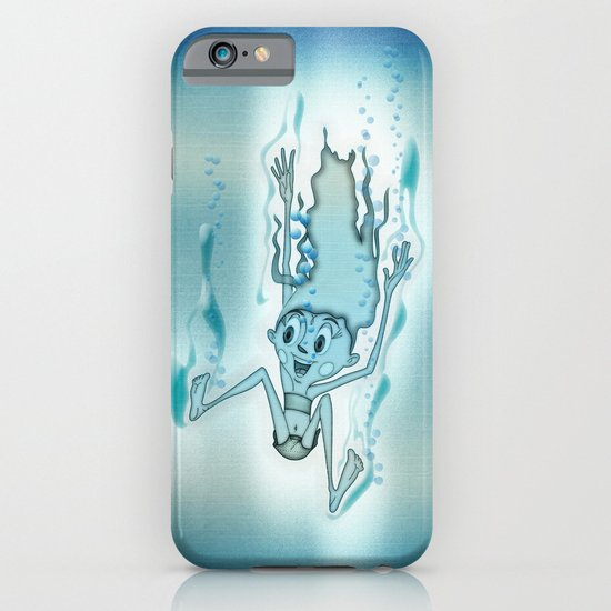 Blue Turquoise iPhone & iPod Case