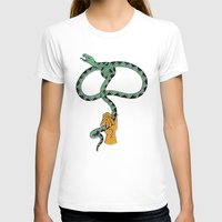 Lassssso Womens Fitted Tee White SMALL