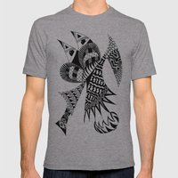 Ubiquitous Bird Mens Fitted Tee Athletic Grey SMALL