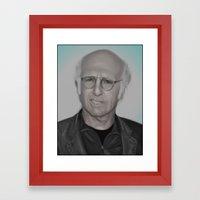 Larry Framed Art Print