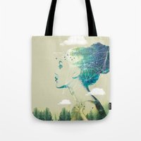 Geo Forest Tote Bag