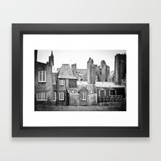 Living with the Past Framed Art Print