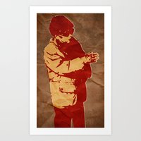 Dear Leader Art Print