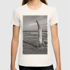 The Sea Forest, Thornham, Norfolk Womens Fitted Tee Natural SMALL