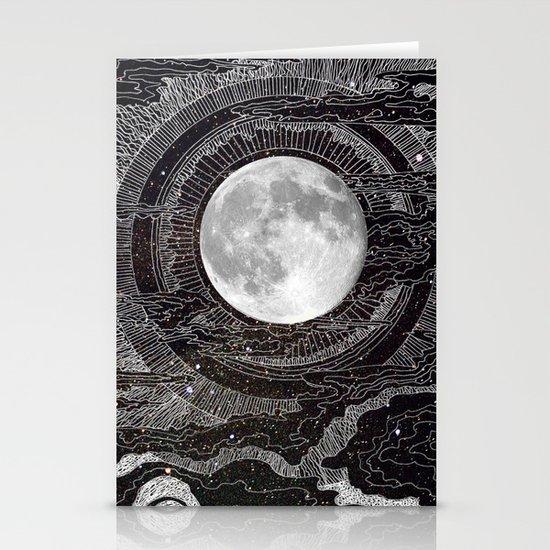 Moon Glow Stationery Card
