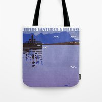 Desde Santurce a Bilbao Tote Bag
