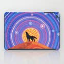 Night of the Wandering Wolf iPad Case