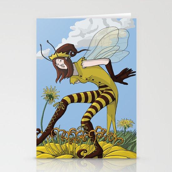 Pollen Dance Stationery Card