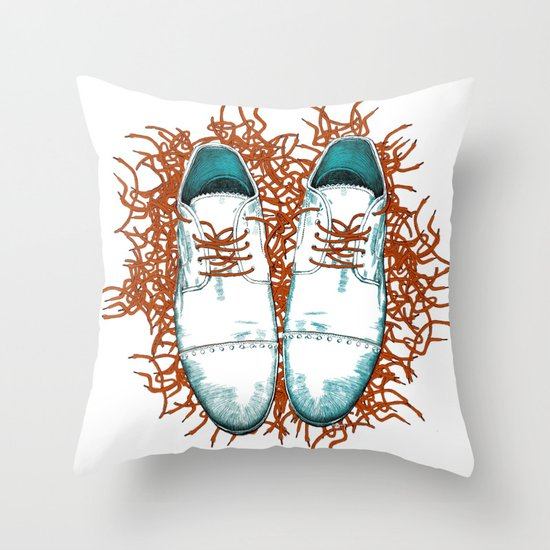 Shoes the last version  Throw Pillow
