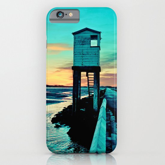 Betsy Blue iPhone & iPod Case