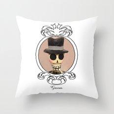 Dia de los Muertos Novio Throw Pillow