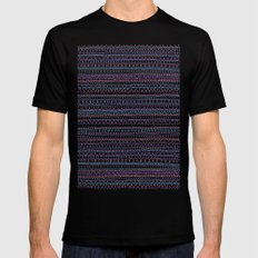 Pattern Mens Fitted Tee Black SMALL