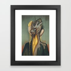 Traces of Id Framed Art Print