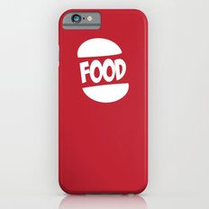 FOOD logo fun generic food logo iPhone 6s Slim Case