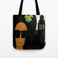 Shaft's is name. Shaft's his game Tote Bag