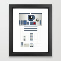 StarWars - R2D2 Framed Art Print
